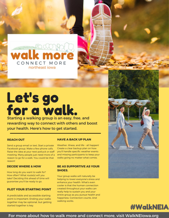 How to Start a Walking Group PDF image