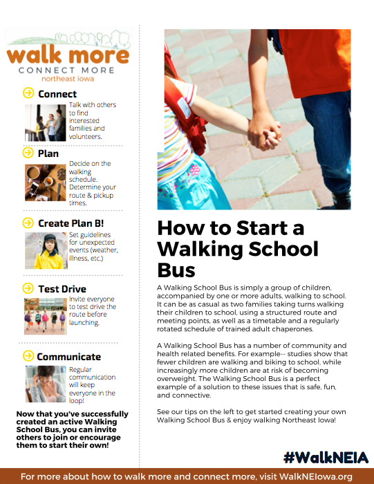 How to Start a Walking Schoolbus PDF image